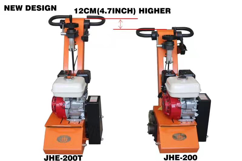 New design concrete scarifier JHE-200T